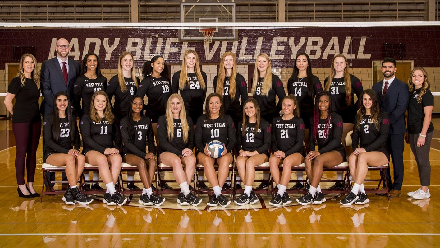 Volleyball West Texas A M University Athletics